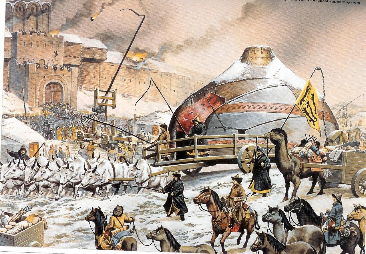 Монголо-татары в Галицко-Волынской Руси