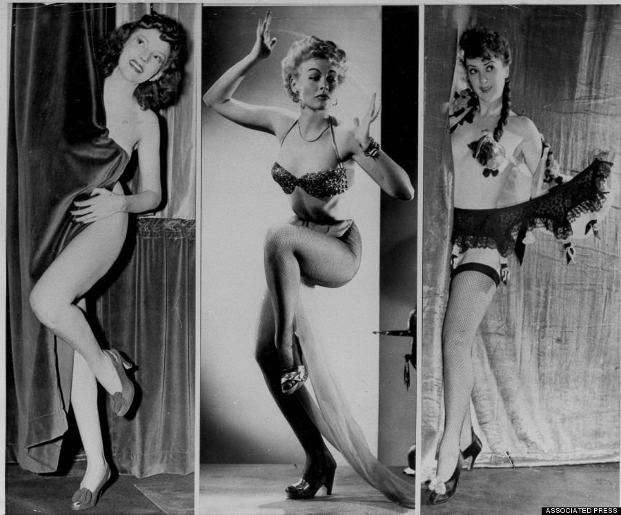 burlesque10 Краткая, но потрясающая история бурлеска в 1950 х годах