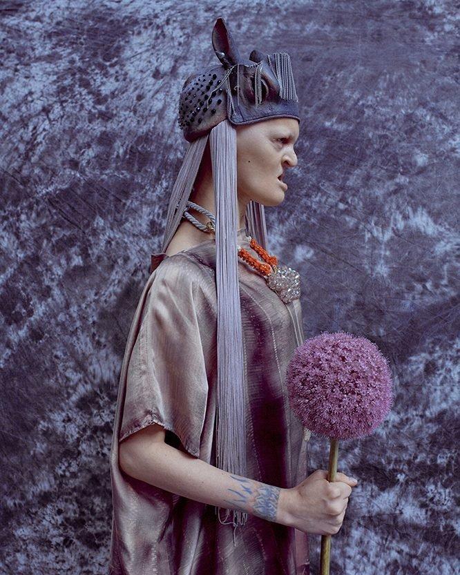 Самая шокирующая девушка-модель современности Гайдос, Мелини, аномалия, мода, модель, показ, творчество, фото