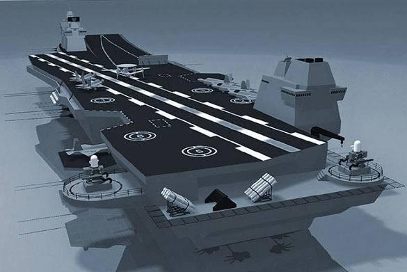 Россия разрабатывает легкий авианосец