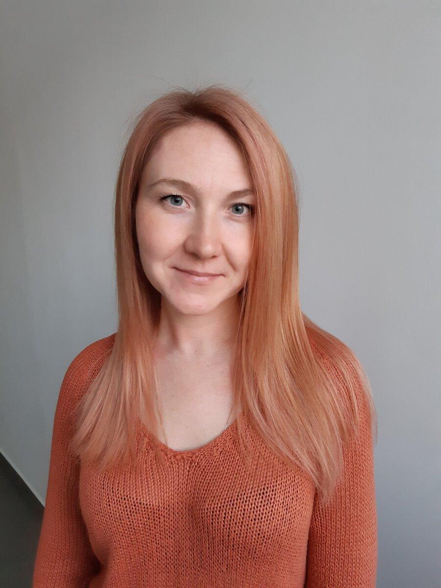 """Девочка с персиковыми волосами! История моего прорыва в колористике, после которого """"пошли"""" клиенты."""