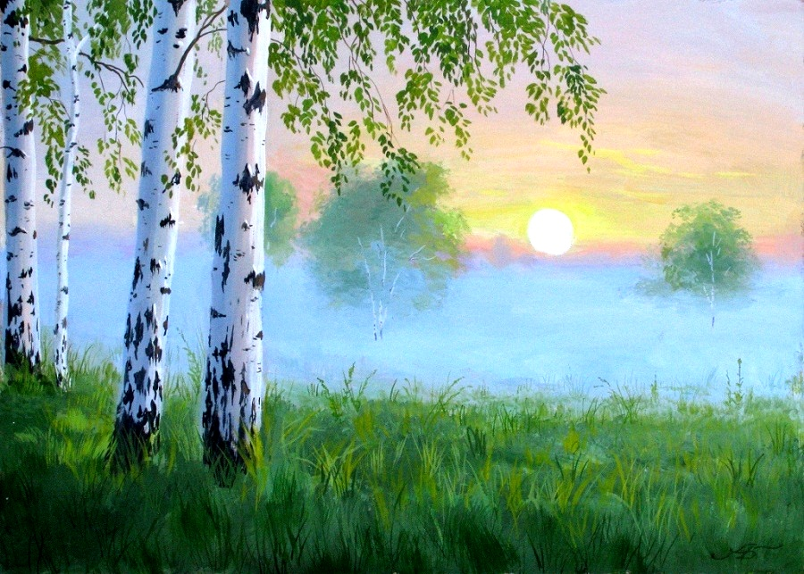 Пейзажи Александра Болотова
