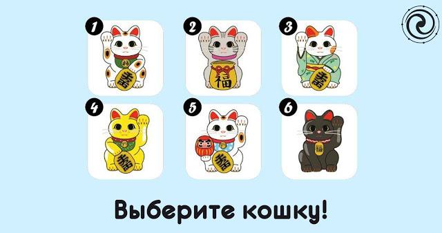 Выберите кошку, которая вас …
