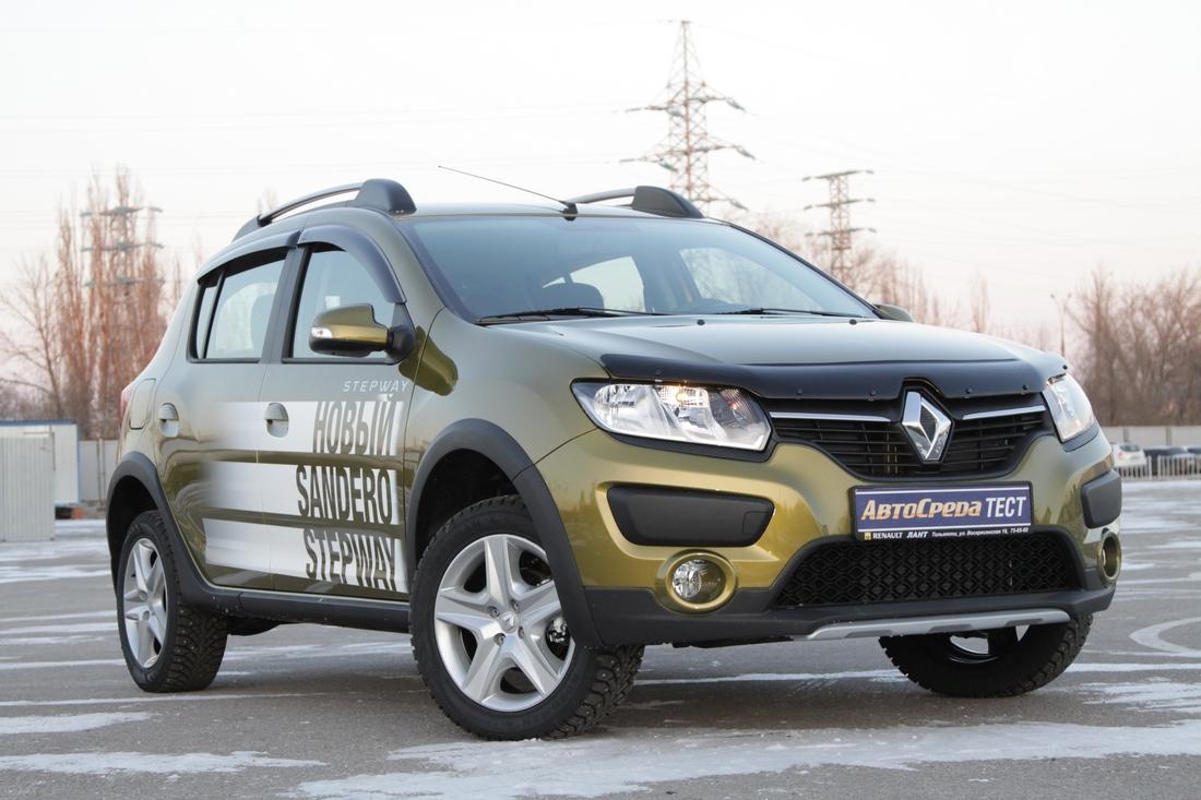 Новый Renault Sandero Stepway: родня кроссоверам