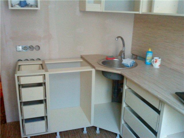 Ремонт кухни своими руками с фото дешево