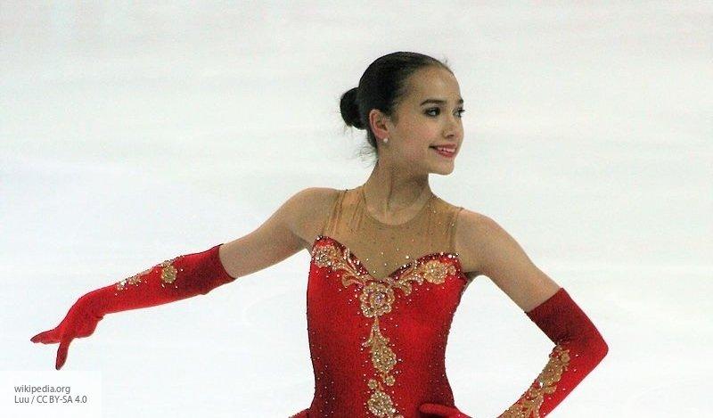 Загитова заняла первое место в короткой программе чемпионата мира