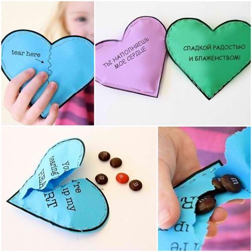Как сделать подарок для любимой своими руками