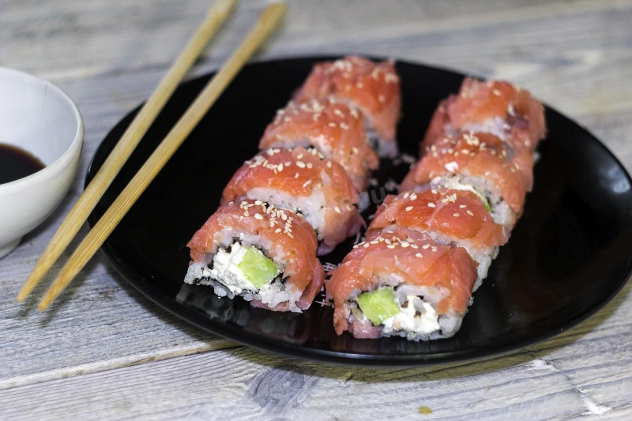 Домашние вкуснейшие суши