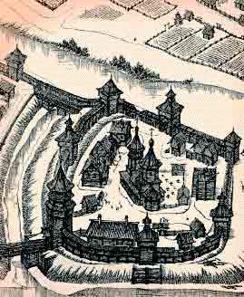 Орловский кремль. XVII век.