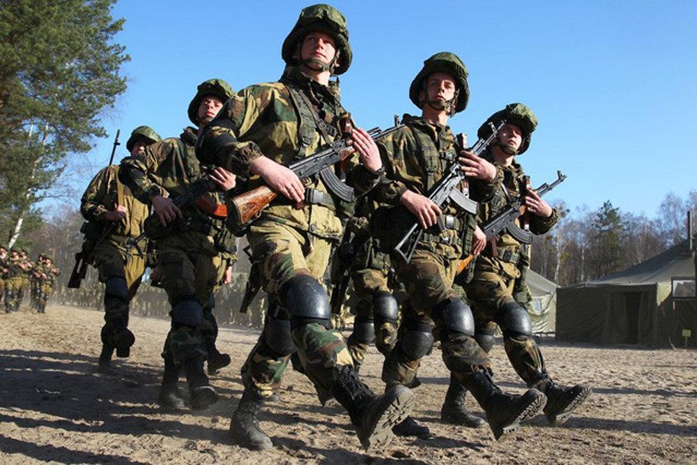 Крылатая гвардия Союзного государства зачистила местность от террористов