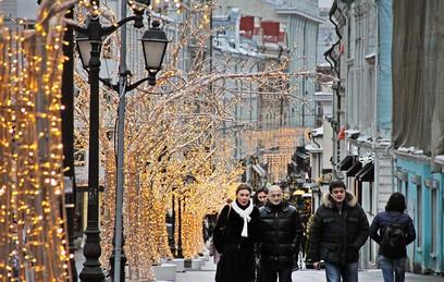 Тверская станет пешеходной улицей в новогодние праздники