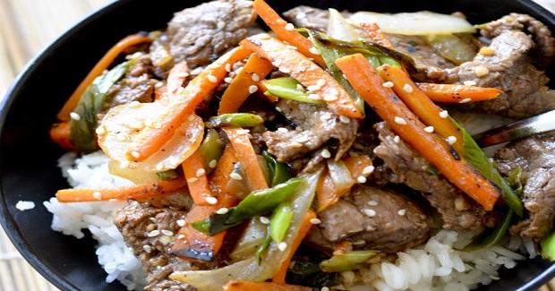 Жаркое из говядины — для любителей азиатской кухни