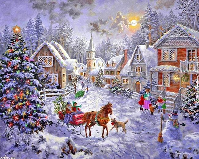 История празднования Нового года на на Русской земле