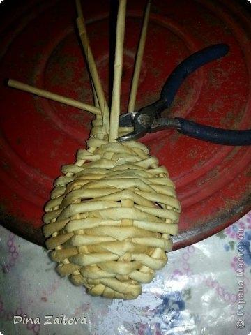 Плетение из газет. Декоративные ложки для украшения кухни (11) (360x480, 95Kb)