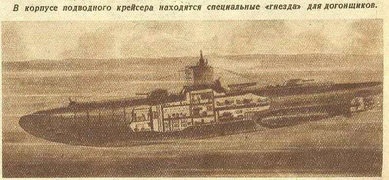 Подводная война будущего (взгляд из 1921 года)