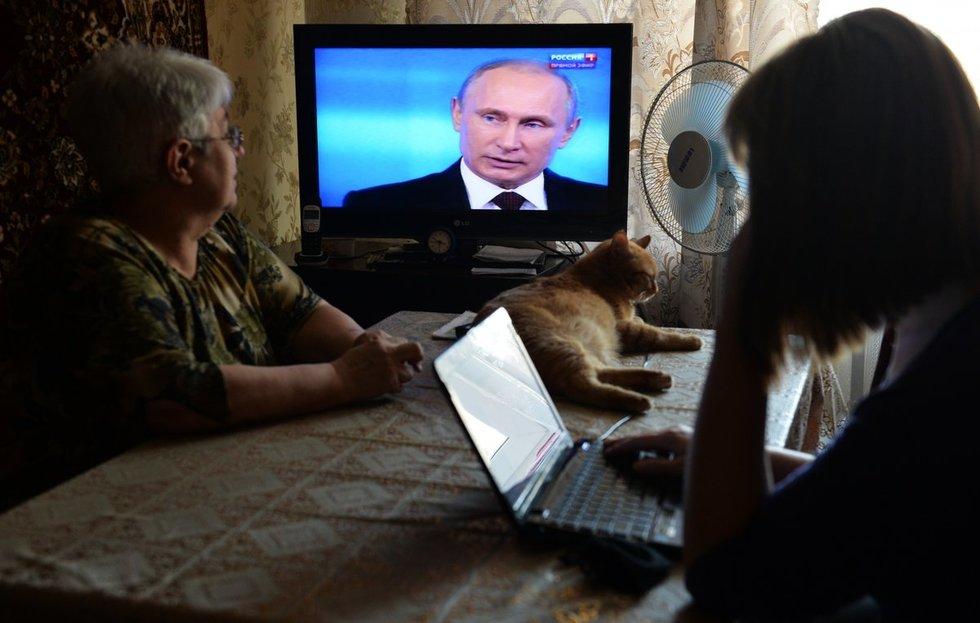 Какой вопрос вы бы задали Путину?