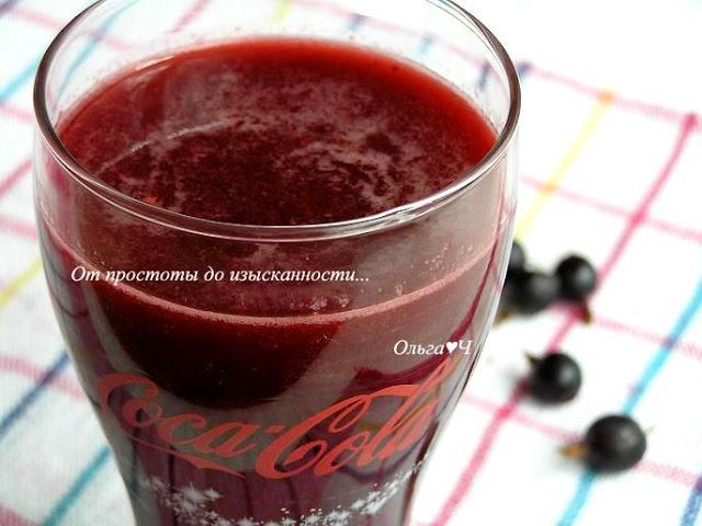 Томатный коктейль с крыжовником и кока-колой