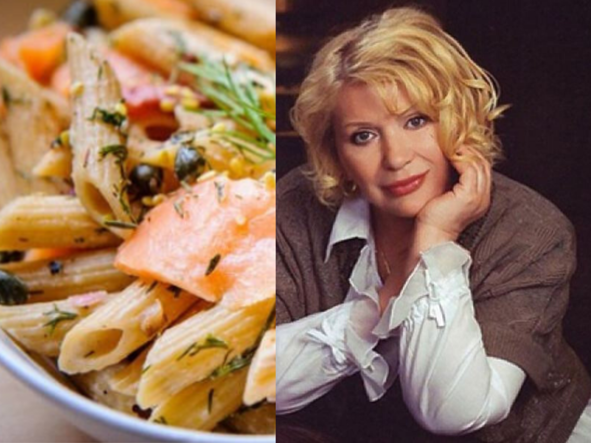 Любимое блюдо актрисы Галины Польских. Коллаж автора канала