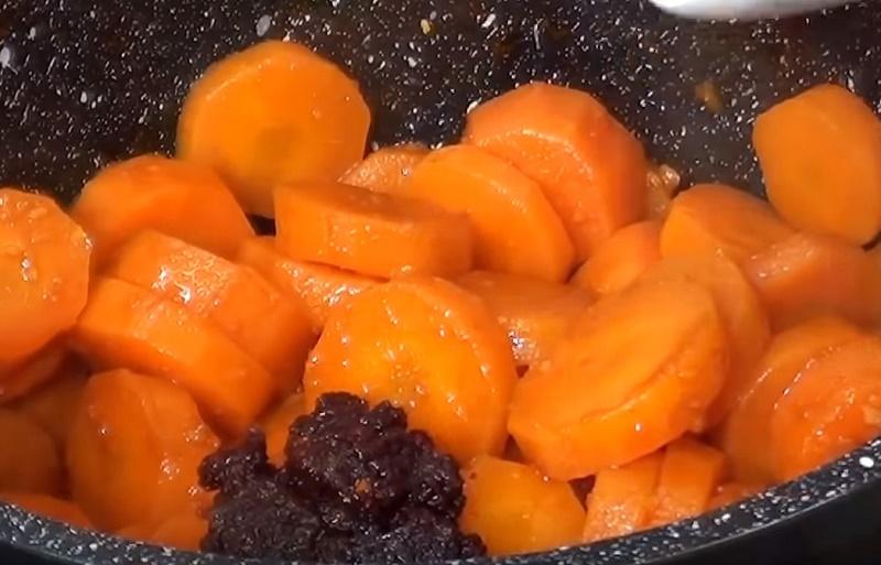 что приготовить из замороженной моркови