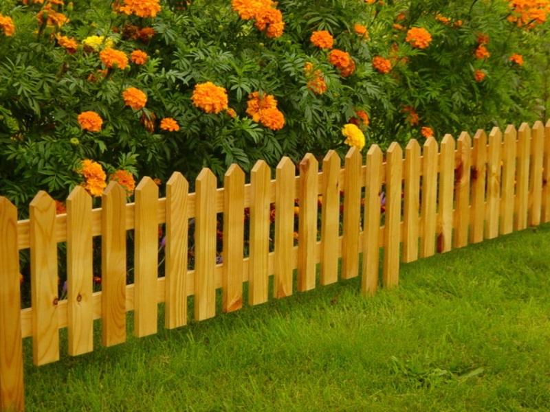 Заборчик для клумбы: идеи красивых и оригинальных ограждений цветников