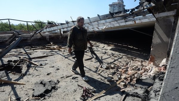 В пострадавших от артобстрела районах Донецка восстановлены газ и электричество