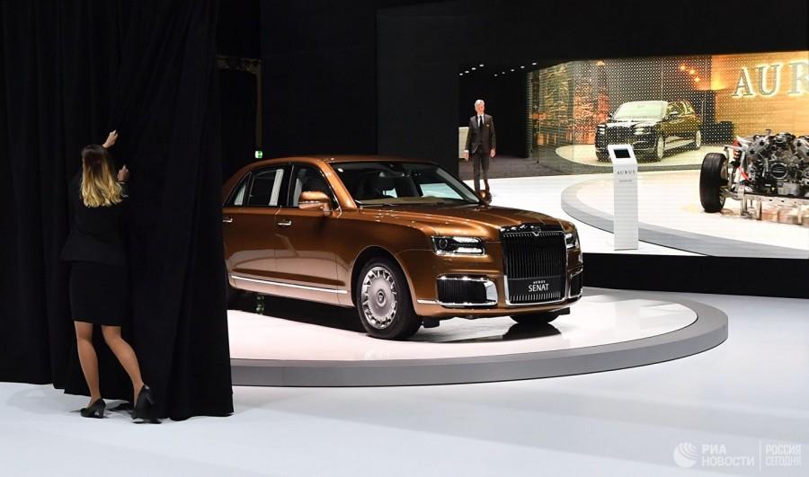 В Женеве прошла презентация российских автомобилей Aurus