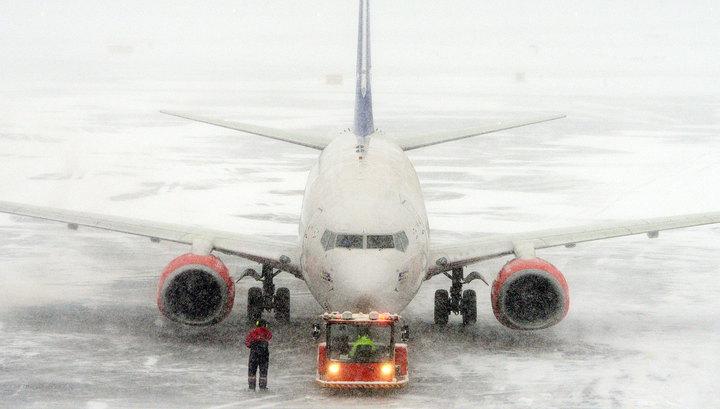 Из-за непогоды в Москве задержаны почти 200 авиарейсов