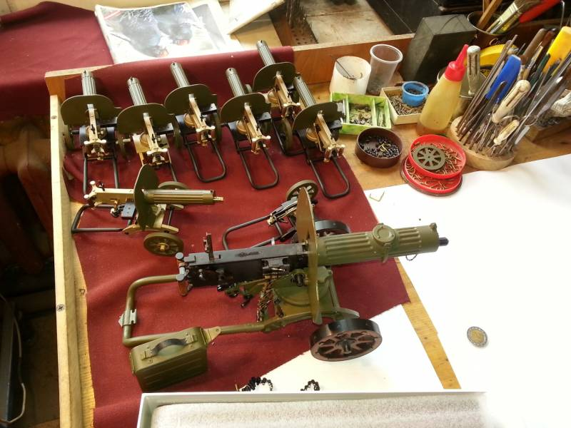 Оружейная миниатюра. Искусство и технологии