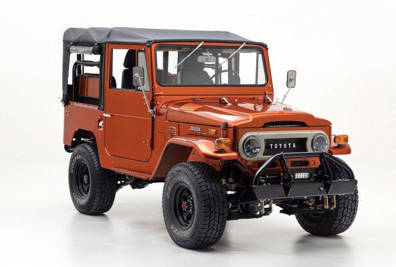Восстановленный Toyota Land Cruiser FJ40 1972 года от FJ Company