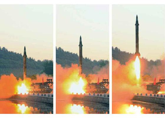 """Испытания высокоточной модификации северокорейских ОТРК типа """"Хвасон"""""""