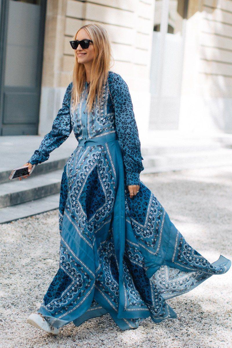 красивые платья бохо