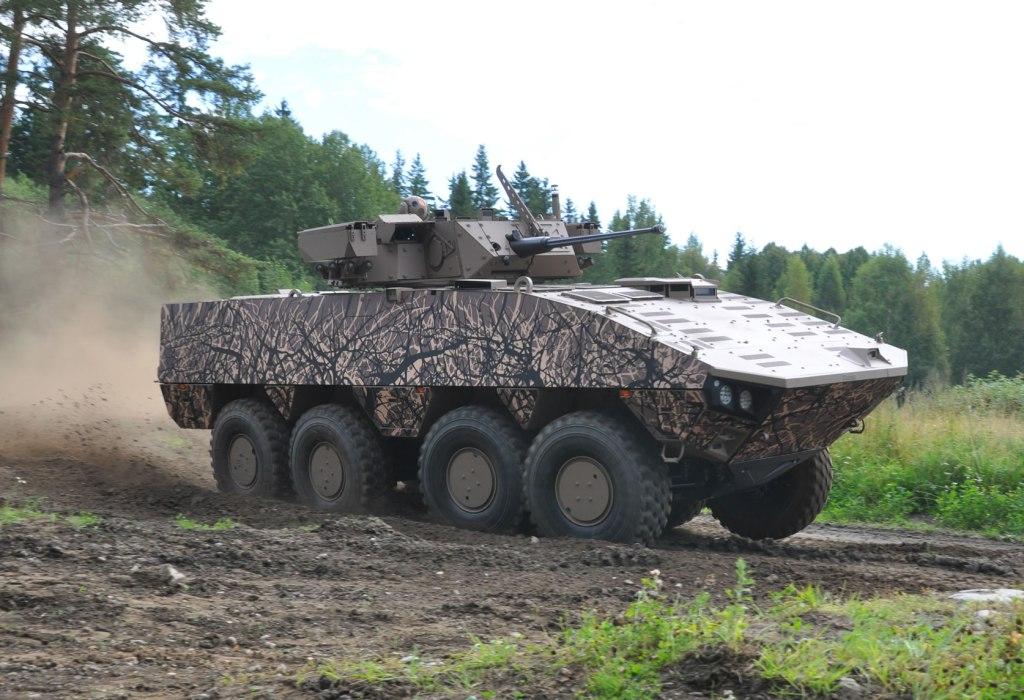 Словакия закупит бронетранспортеры Patria AMVXP