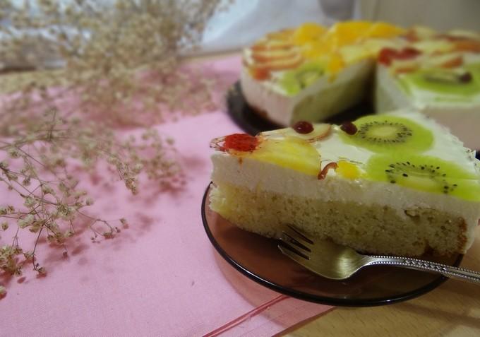 Творожный холодный торт