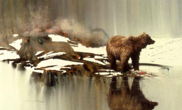Дом родной для них - природа... Американский художник Morten E. Solberg