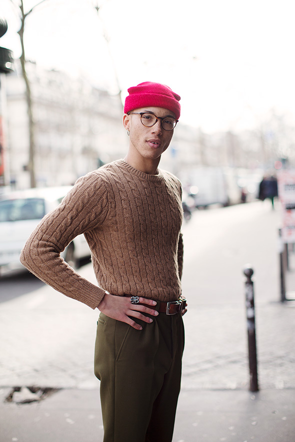 On the Street…Le Marais, Paris