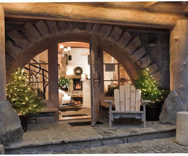 Деревянный домик в Польше