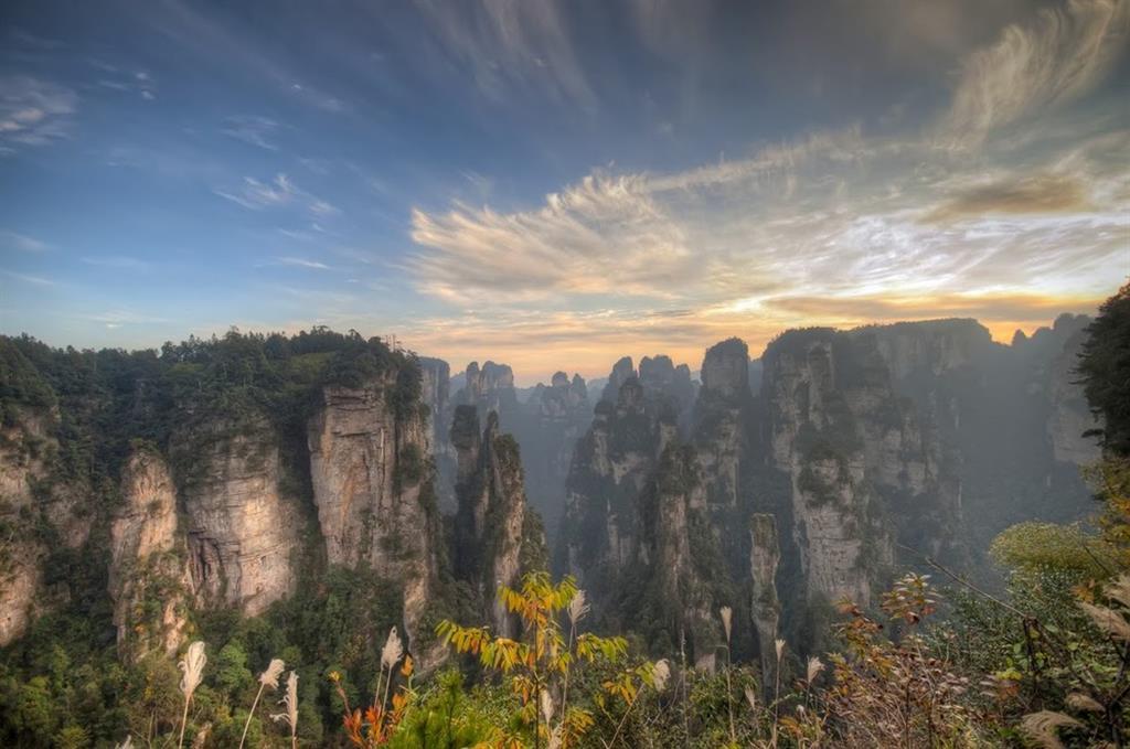 национальный парк, удивительные парки мира, национальный парк в китае, всемирное наследие юнеско, парк Чжанцзяцзе, горы Улинъюань