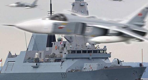 «Daily Star», Британский шок: 17 самолётов ВКС РФ «атаковали» новейший эсминец «Дункан»