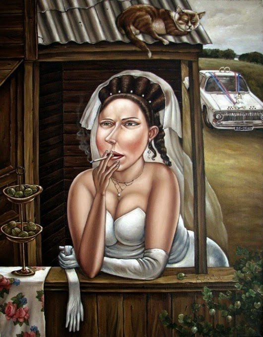 Чудесные картины донецкой художницы Анжелы Джерих