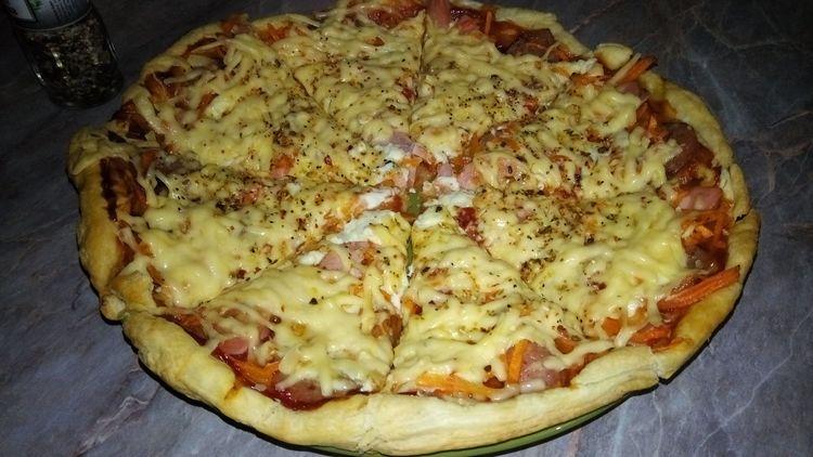 Пицца ароматная