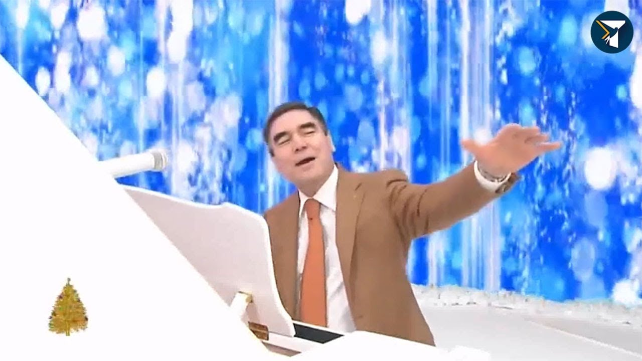 Картинки по запроÑу президент ТуркмениÑтана Ñпел по-немецки