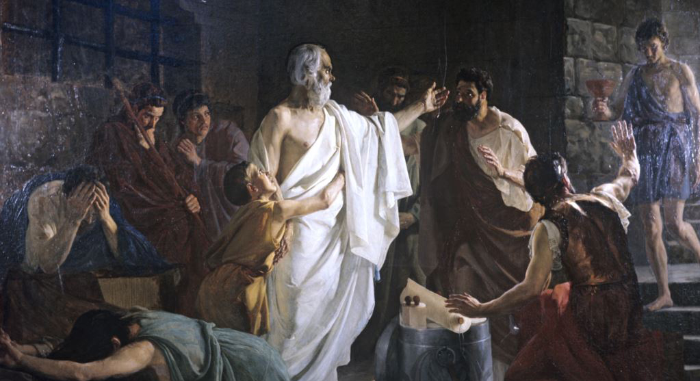 the explanation of socrates on why death should not be feared in platos philosophic dialogue phaedo The philosophical subject of the dialogue is the death bed, phaedo relates the dialogue from days of socrates phaedo explains why a delay.