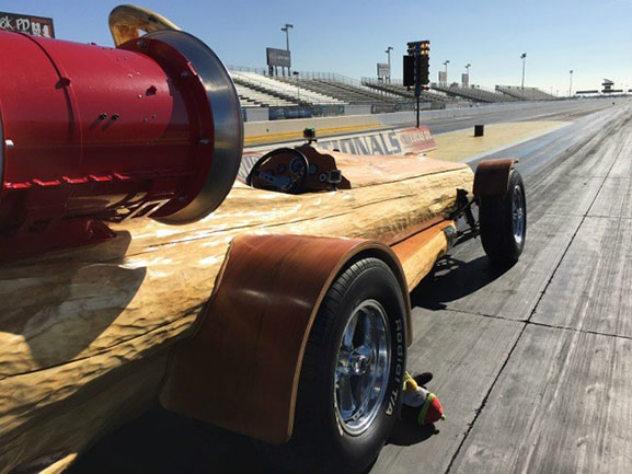 Кедровая ракета: как из обычного бревна сделали гоночное авто