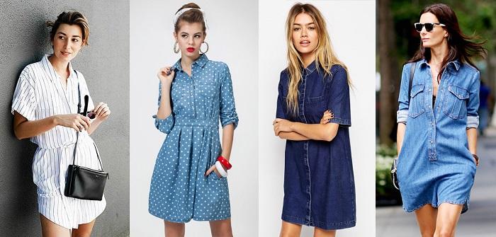 Платье-рубашка: подбираем идеальную модель под тип фигуры