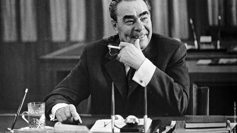 Брежнев и советский народ