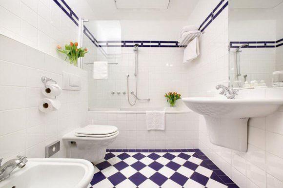 Интерьер ванной 6 кв.м.