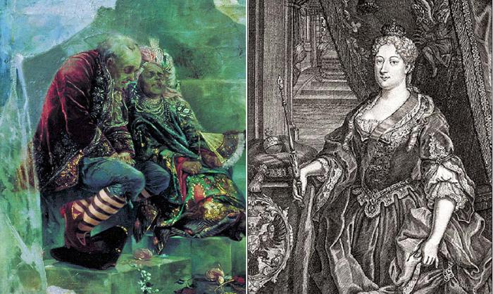 Самодурство, переходящее в садизм: чудовищные забавы Анны Иоанновны