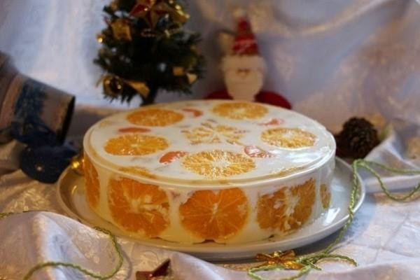 Желейный торт «Фруктовый»