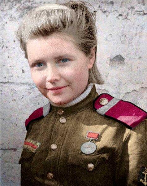 Герой Советского Союза Екатерина Илларионовна Дёмина