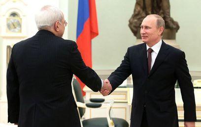 Путин встретился в Сочи с главой МИД Ирана